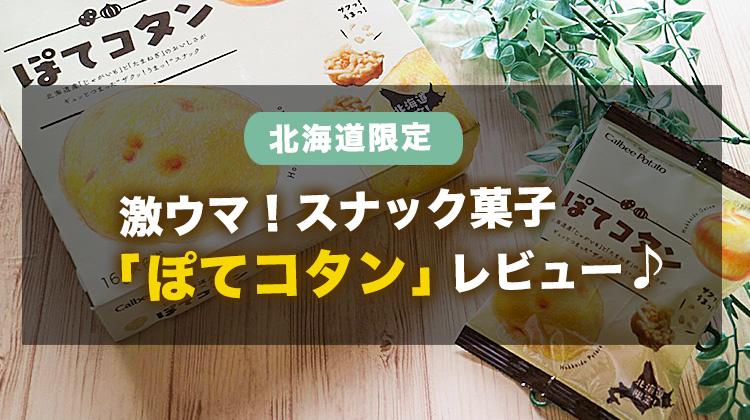 【ぽてコタン】北海道限定の激うま!スナック菓子が美味しすぎたのでレビューするぞ!